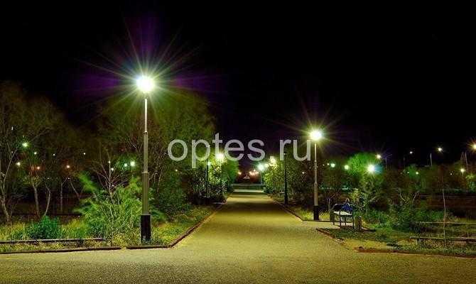Выгода уличного светодиодного освещения 1