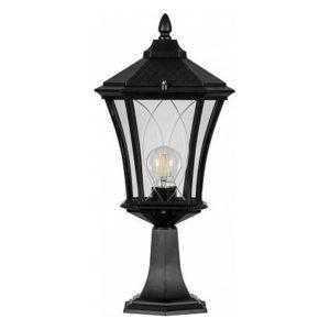 Светильник садово-парковый Feron PL4033 восьмигранный на постамент 60W 230V E27