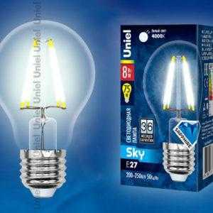 LED-A60-8W/NW/E27/CL PLS02WH картон