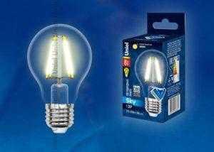 LED-A60-8W/WW/E27/CL PLS02WH картон