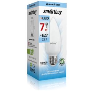 Светодиодная (LED) Лампа Smartbuy-C37-07W/4000/E27