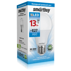 Светодиодная (LED) Лампа Smartbuy-A60-13W/6000