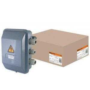 Коробка клеммная металлическая У-615М IP54 TDM