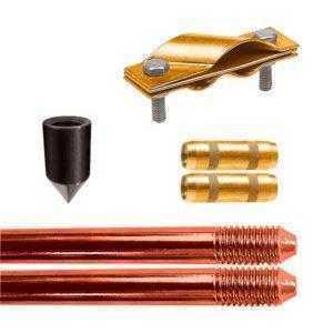 Электрод заземления EZ — 3 (3 метра, 16 мм, 2 х 1500 мм)