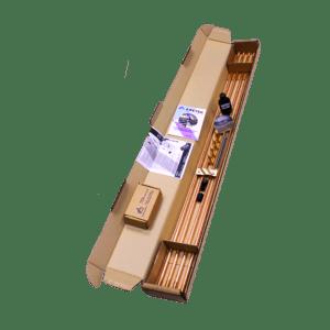 Комплект заземления EZ – 6 (6 метров, 14 мм, 4 х 1500 мм) с насадкой SDS-max