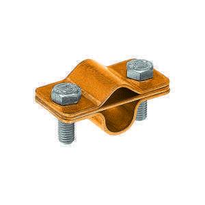 Зажим соединительный круглого проводника 8-10 мм прижимной, оцинк.