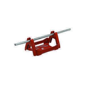 Держатель проводника круглого 8 мм для водосточных труб 80-120 мм, оцинк.