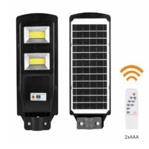 ERAKSC40-01 Консольный светильник на солнечной батарее, COB, 40W, с датчиком движения, ПДУ, 750lm, 5000К, IP65