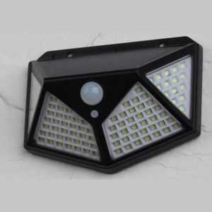 v788545788452201 300x300 - ERAFS100-04 ЭРА Фасадный светильник с датч. движ. и 4-мя плоск. освещ., на солн. бат.100 LED,300 lm
