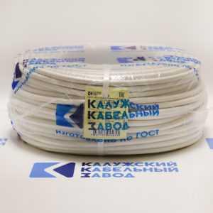 pvs 2h250 300x300 - Провод соединительный ПВС 2х2,5 белый ККЗ