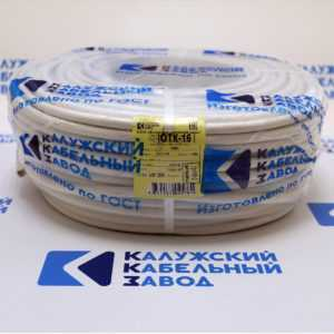 pvs 3h250 4 300x300 - Провод соединительный ПВС 3х2,5 белый  ККЗ