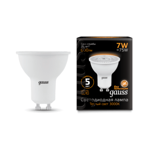 Лампа Gauss LED MR16 GU10 5W 4100K