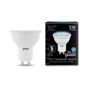 101506205 300x300 - Лампа Gauss LED MR16 GU10 5W 4100K