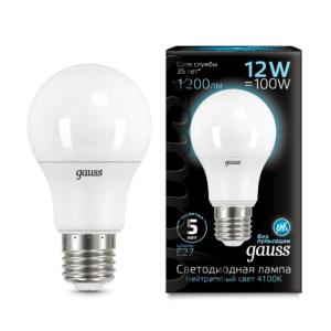 102502212 300x300 - Лампа Gauss LED A60 globe 12W E27 4100K