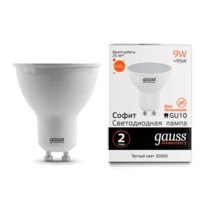 13619 300x300 - Лампа Gauss LED Elementary MR16 GU10 9W