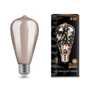 147802404 300x300 - Лампа Gauss LED 3D-Butterfly E27 4W