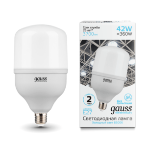 63234 300x300 - Лампа Gauss Elementary LED T120 E27 42W 3700lm