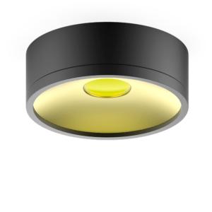 hd026 027 300x300 - LED светильник накладной  HD027 17W (черный/золото) 3000K 140х50,1100лм, 1/30