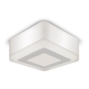 Светильник Gauss Backlight накладной BL220 Квадрат. Акрил, 3+3W, LED 3000K, 105*105, 1/40