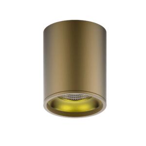 hd001 300x300 - LED светильник накладной HD001 12W (кофе золото) 3000K 79x100,900лм, 1/30