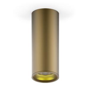 hd002 300x300 - LED светильник накладной HD002 12W (кофе золото) 3000K 79x200,900лм, 1/30
