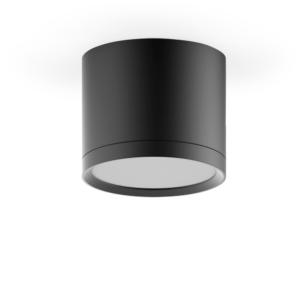hd016 017 300x300 - LED светильник накладной с рассеивателем HD017 10W (черный) 4100K 88х75,720лм, 1/30