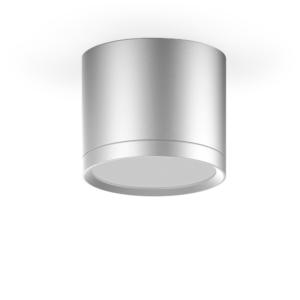 LED светильник накладной с рассеивателем HD015 6W (черный) 4100K 68х75, 420лм, 1/30