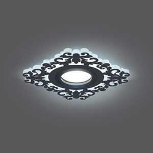 700 300x300 - Встраиваемый cветильник чёрный Backlight Gauss BL129