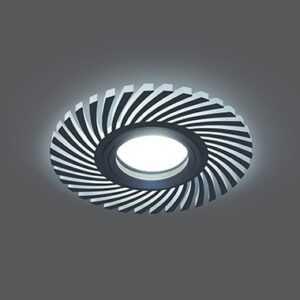 701 300x300 - Встраиваемый cветильник чёрный Backlight Gauss BL132